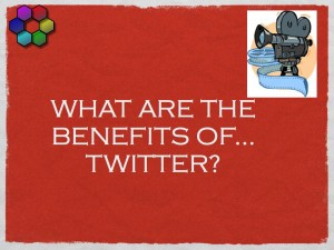 What are the benefits of Twitter?