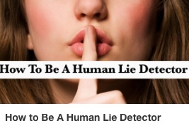 VVE How to be a Human Lie Detector