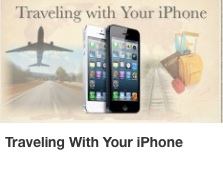CD Travelling with your iPhone