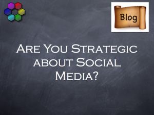 are you strategic about social media