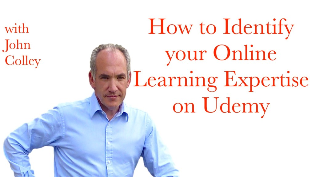 How to Identify your Online Learning Expertise on Udemy.001