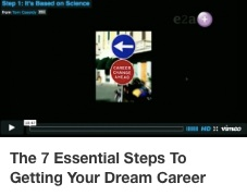 TC 7 Essential Steps to Getting your Dream Career