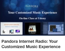 CD Pandora Internet Radio